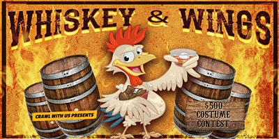 Whiskey & Wings Bar Crawl - Ann Arbor