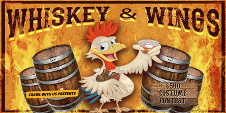 Whiskey & Wings Bar Crawl - Charlotte tickets