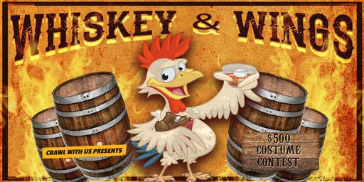 Whiskey & Wings Bar Crawl - Louisville