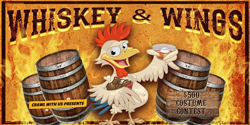 Whiskey & Wings Bar Crawl - Hartford