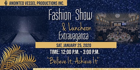 Fashion show & Luncheon Extravaganza tickets