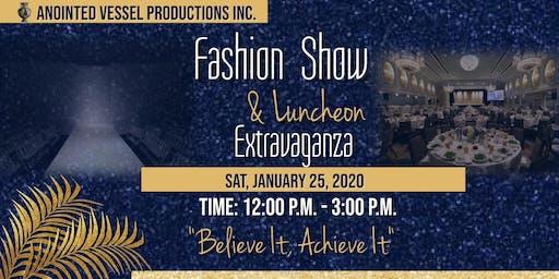 Fashion show & Luncheon Extravaganza