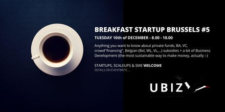 Startup Acceleration Brussels Breakfast #5 tickets
