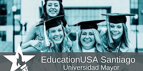 EducationUSA Santiago: Charla pregrado en EE.UU. entradas