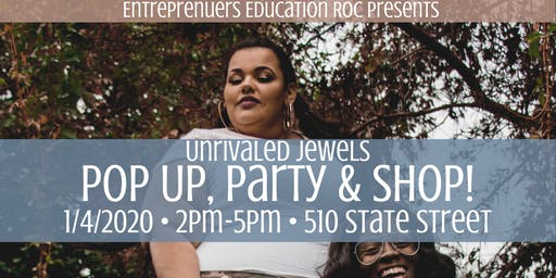 Unrivaled Jewels Pop Up, Party & Shop!