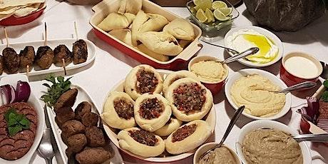 23/01 - Culinária Árabe, 19h às 22h - R$195,00 ingressos