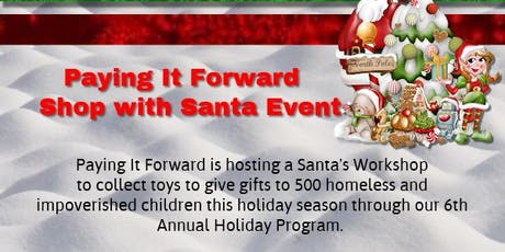 Shop with Santa Children only shopping event tickets