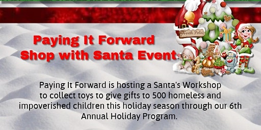 Shop with Santa Children only shopping event
