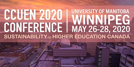 CCUEN 2020 Conference - Sustainability in Higher Education in Canada tickets