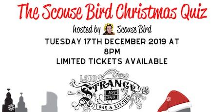 The Scouse Bird Christmas Quiz - Prescot tickets