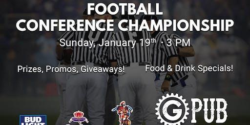 Football Conference Championship at GPub