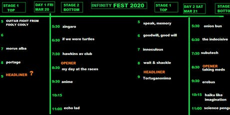 INFINITY FEST 2020 tickets