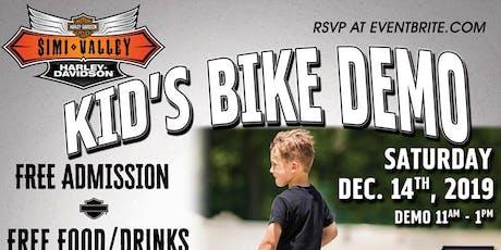 SVHD Presents Kid's Bike Demo and Santa Claus! tickets