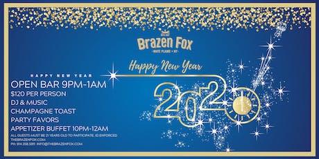 Brazen Fox New Years Eve 2020 tickets