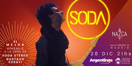 SODA en MADRID by Caio Arancio entradas