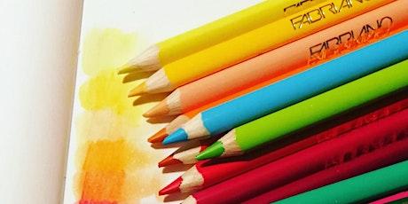 Acquerello: laboratorio sul colore con spezie e frutta biglietti