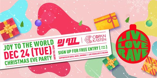 Club Cubic Presents LIVE LOVE RAVE Christmas Eve Party