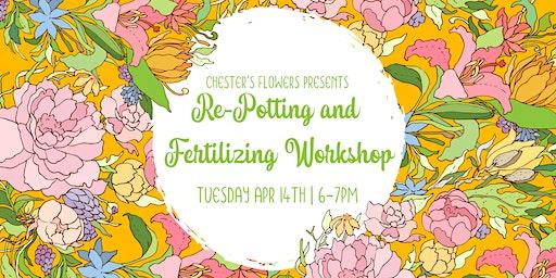 Re-potting and Fertilizing