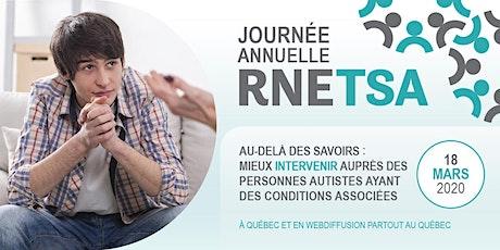 Journée annuelle du RNETSA 2020 billets