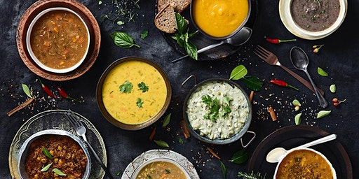Vegan Supperclub with Indian/Caribbean Fusion food and Poetry