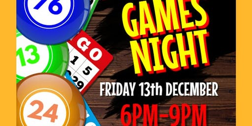 Pico Club Games Night