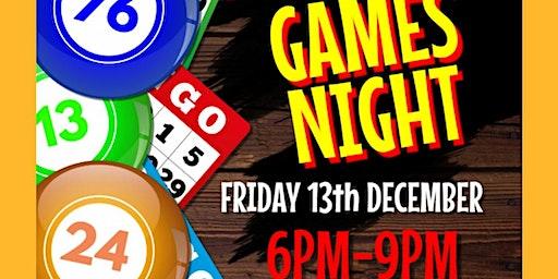 Pico Club Games Night