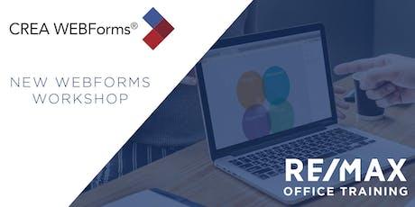 New Webforms Workshop-HS-AM tickets