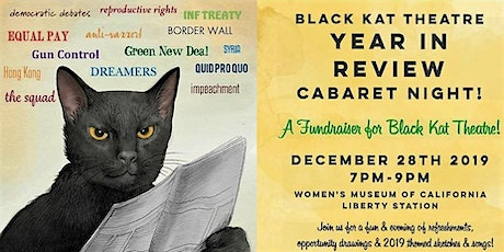 BLACK KAT THEATRE YEAR IN REVIEW FUNDRAISER tickets