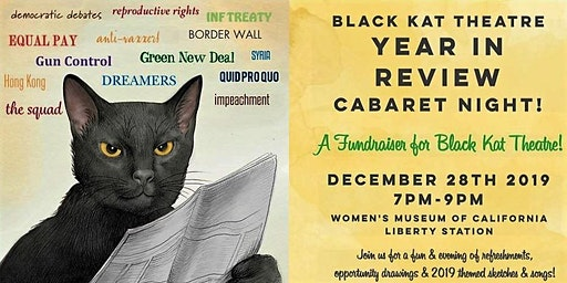 BLACK KAT THEATRE YEAR IN REVIEW FUNDRAISER