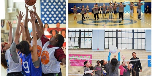 "NYC Parks National GIrls and Womens Sports Day "" She's on Point """
