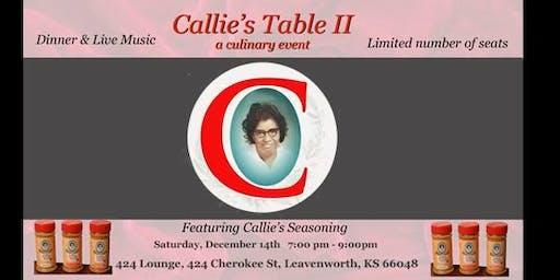 Callie's Table II