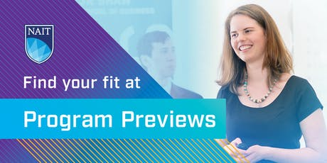 NAIT Program Preview – JR Shaw School of Business tickets