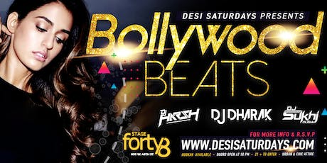 Bollywood Nights @ Stage48 NYC - A Weekly Saturday Night DesiParty  tickets