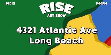 Rise Art Show tickets