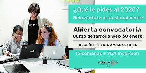 Pruebas presenciales proceso de selección Adalab  19/12/19 a las 15:00