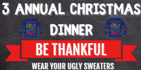 """S.O.S Youth Mentoring Program """"Saving Our Sister's""""(3 ANNUAL CHRISTMAS DINNER) tickets"""