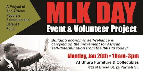 Uhuru MLK Day Philly tickets