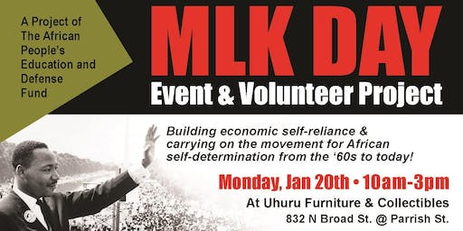 Uhuru MLK Day Philly