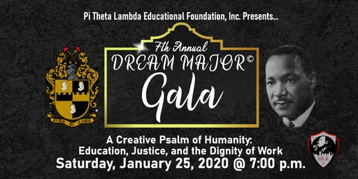 2020 DREAM MAJOR © Gala by Pi Theta Lambda Educati