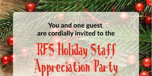 RFS Holiday Staff Appreciation Party!