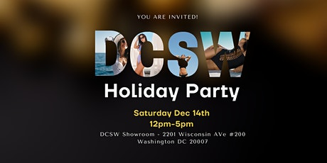 DC Swim Week Holiday Party tickets