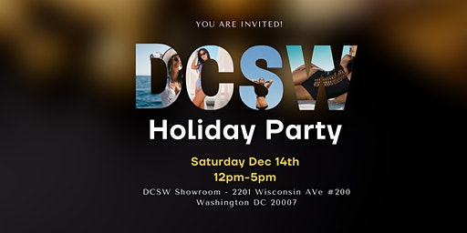 DC Swim Week Holiday Party