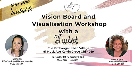 Vision Board and Visualisation Workshop with a Twist