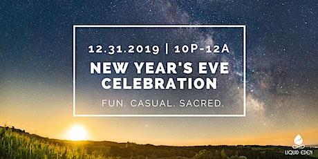 Liquid Eden Sacred New Year's Eve Celebration tickets