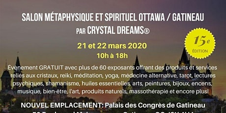 Le Salon Métaphysique et Spirituel d'Ottawa tickets