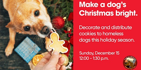 Christmas Cookies for Shelter Dogs tickets