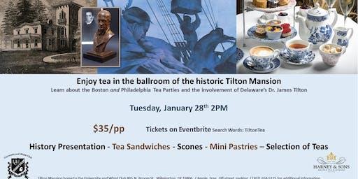 Tilton Tea and History Event