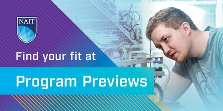 NAIT Program Preview – School of Applied Sciences and Technology tickets