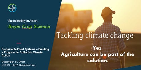 Sustainable Food Systems- Building a Program for Collective Climate Action tickets