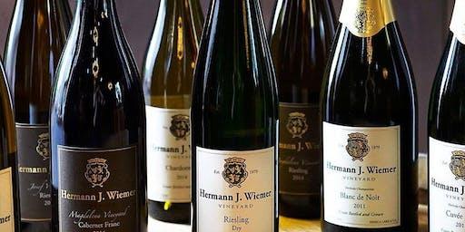Hermann J. Wiemer Wine Dinner 6:30 pm